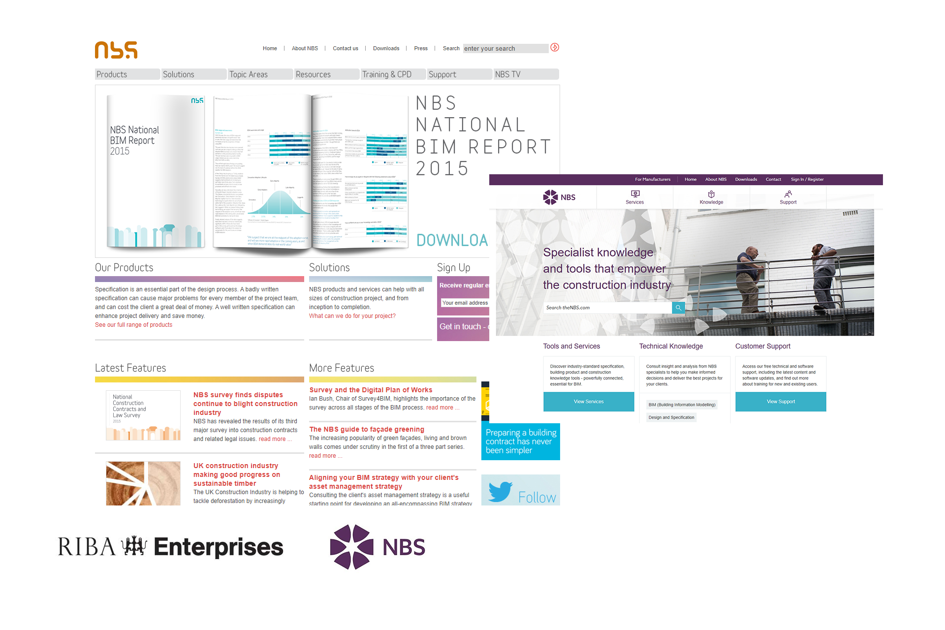 RIBA Enterprises Ltd / NBS